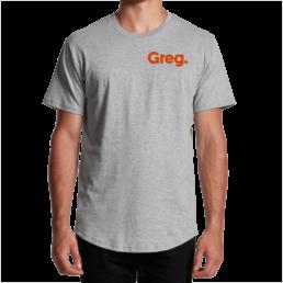 Greg Tee Grey
